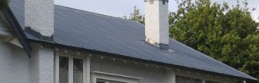 sensible contemporary roofing - better bracing, better flashings, stronger gutters Like