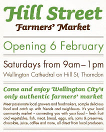 Authentic farmers' market opening