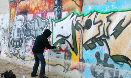 Get back at graffiti