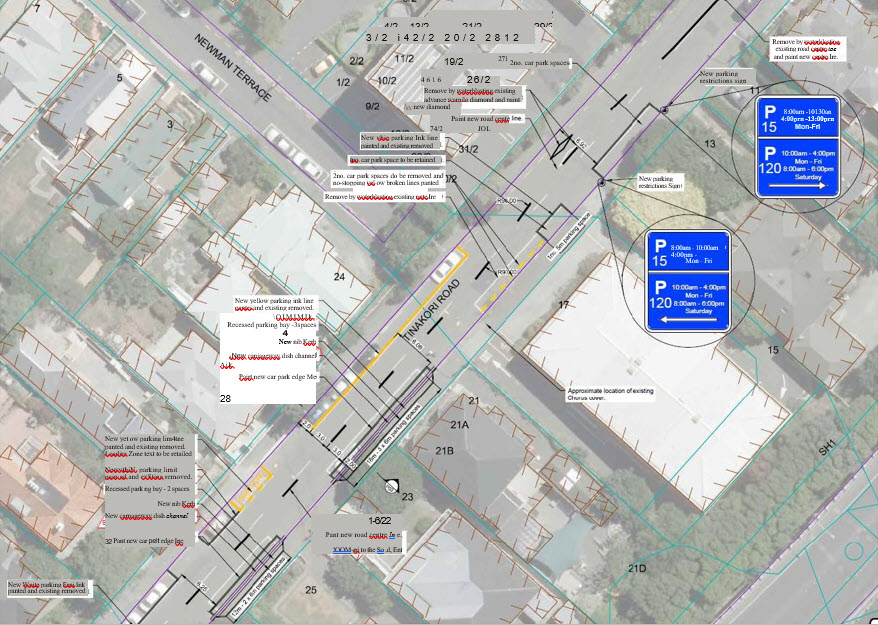WCC Proposed Traffic Resolution – Tinakori Road