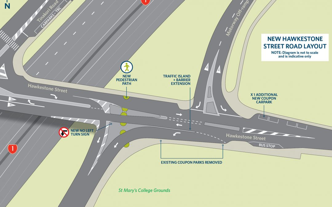 Hawkestone Street layout update